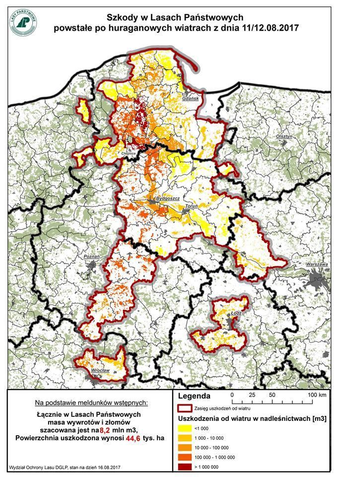 Opublikowano Mape Ze Skala Najwiekszej Kleski W Dziejach Polskiego
