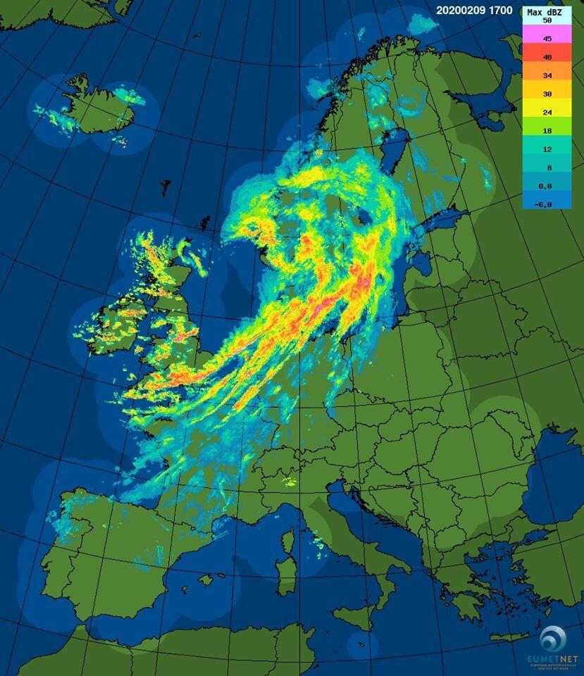 Pogoda Wichura Sabina Przechodzi Przez Europe Wkrotce Dotrze Do