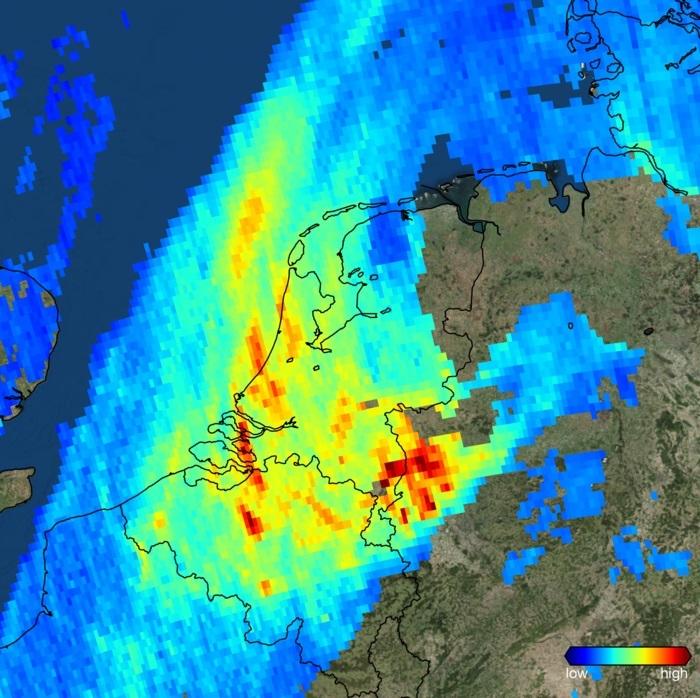 Nowy Satelita Ujawnia Bardzo Dokladne Zanieczyszczenia Powietrza