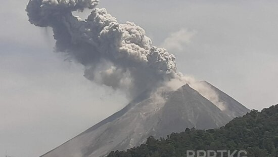 Preview indonezja wulkan merapi