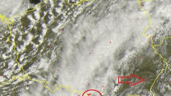 Burze uaktywniły się w Polsce. Front atmosferyczny sunie na południowy wschód. Gdzie jest burza 5 maja   DobraPogoda24.pl