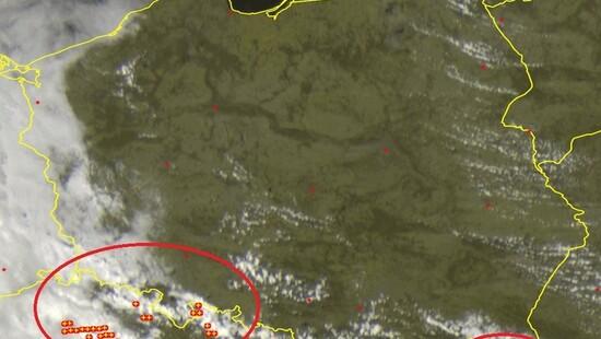 Burze z gradem na południu i zachodzie Polski. Przynoszą ulewy. Gdzie jest burza 12 maja   DobraPogoda24.pl
