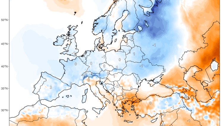 Preview prognoza anomalia temperatury