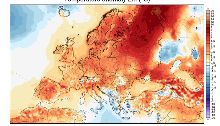 Preview prognoza anomalii temperatury